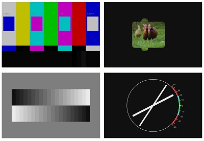 Test Card Example