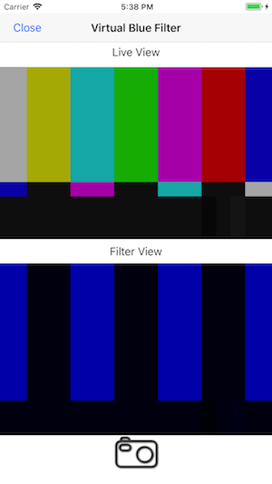 Virtual Blue Filter