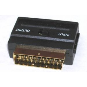 SCART to S-Video Adaptor with Direction Switch